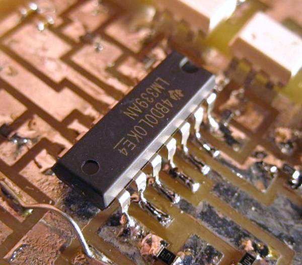 souder un composant traversant en cms 4
