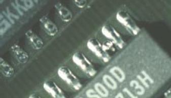 soudure de composant electronique mauvaise realisation 1