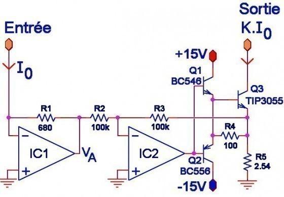 source de courant commandee schema 1