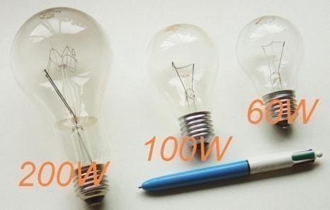 spectre de lampe fluocompacte et halogene 18