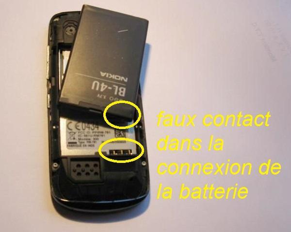 telephone qui bug probleme batterie 1