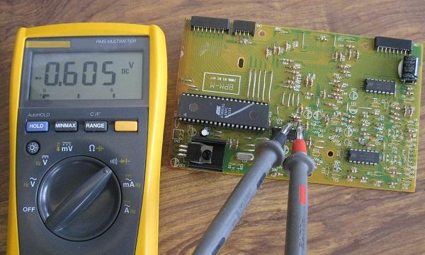 Tester une diode au multim tre - Tester condensateur avec ohmmetre ...