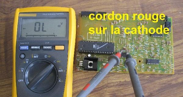 tester une diode au multimetre 5