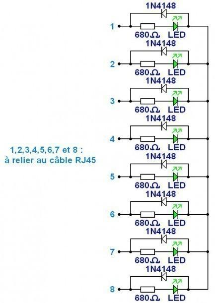 testeur de cable rj45 simple schema 2