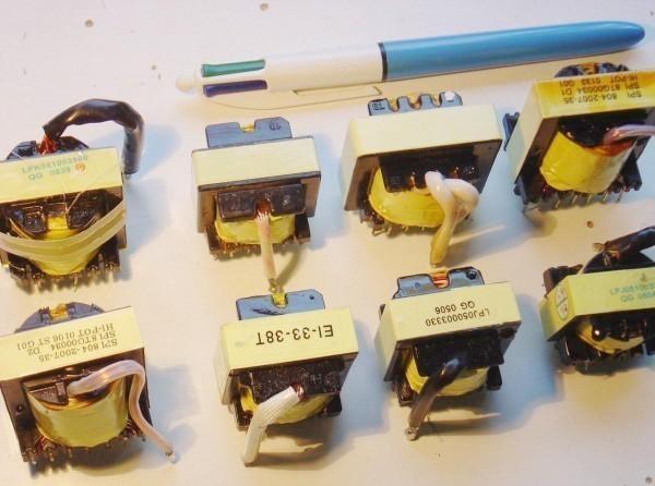 Transformateur d'une alimentation ATX de PC