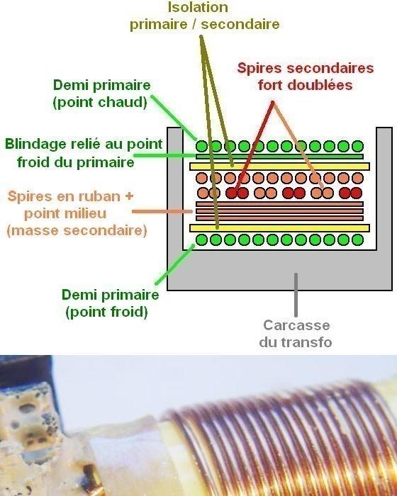 transformateur d une alimentation atx de pc 1