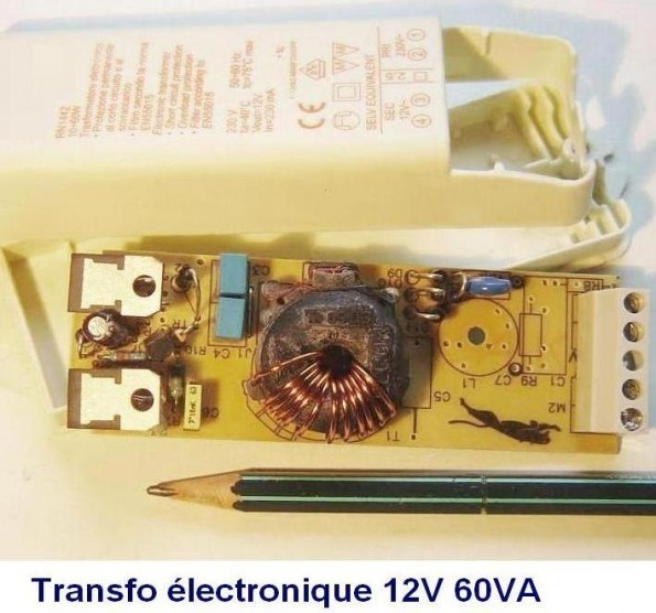 transformateur electronique 12v introduction 0