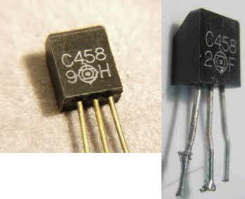 transistors 2sc458 sur ampli hifi marantz 1030 1