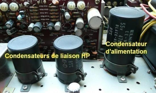 transistors 2sc458 sur ampli hifi marantz 1030 2