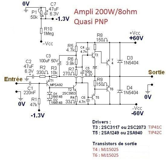 typons et schemas d amplis audio 11