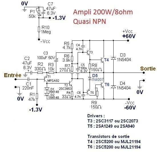 typons et schemas d amplis audio 3