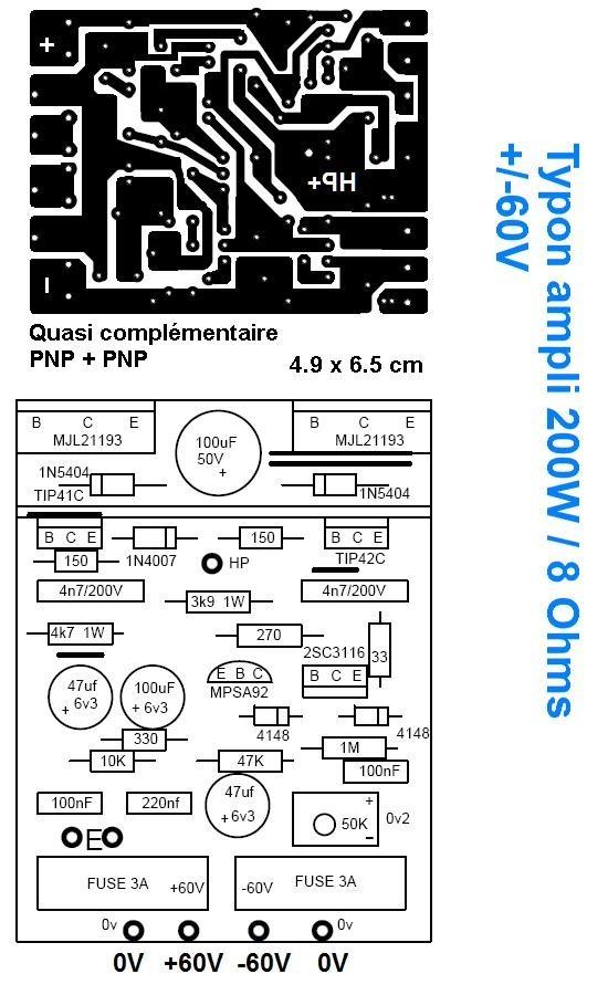 typons et schemas d amplis audio 4