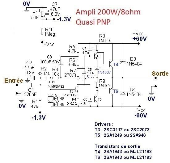 typons et schemas d amplis audio 5