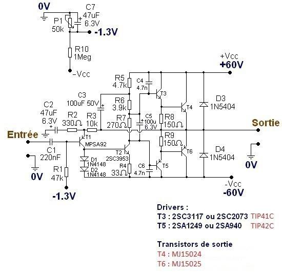 typons et schemas d amplis audio 7