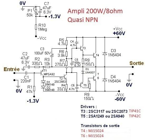 typons et schemas d amplis audio 9
