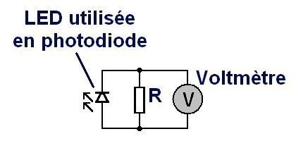 utiliser une led comme photodiode introduction 2