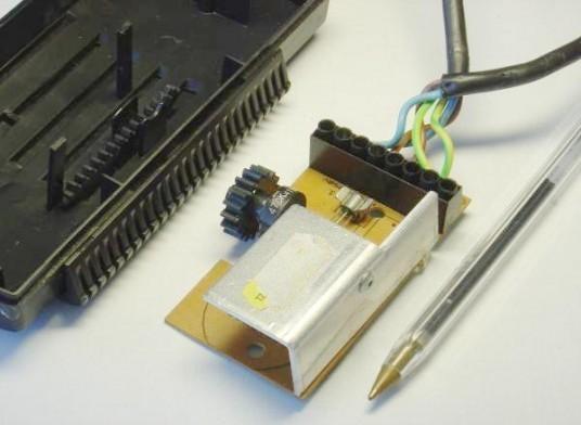 variateur de lumiere a triac realisation 4