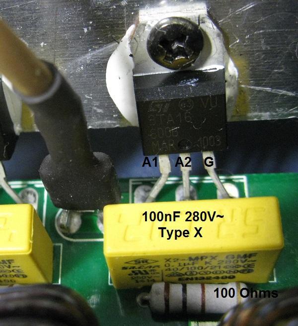 variateur de lumiere dmx a triac 6