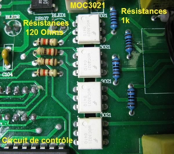variateur de lumiere dmx a triac 7