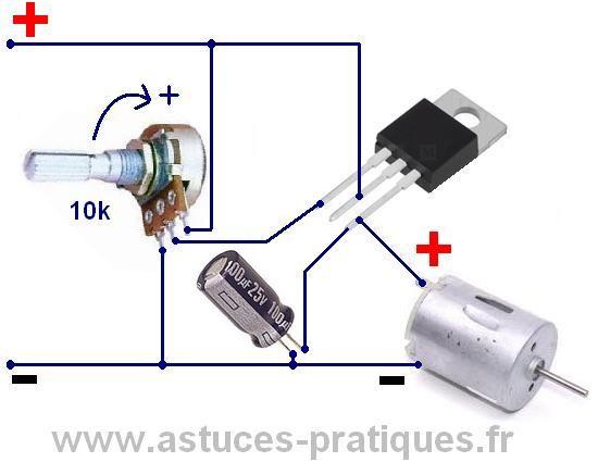 De Astuces Variateur Moteur À Courant Continu Pour Vitesse Pratiques odBxeC