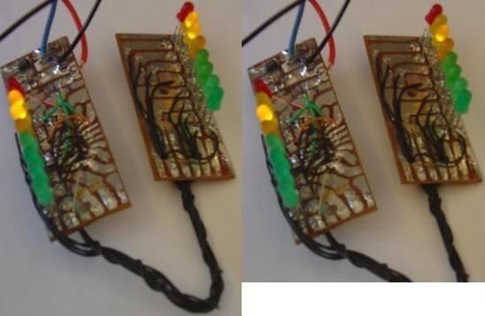 Vumètre à 20 LED et 2 LM3915