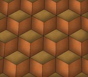 Les cubes d' Oeben ou Cubes sans fond