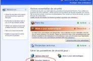 Activer ou desactiver le pare feu ou firewall sur Windows XP