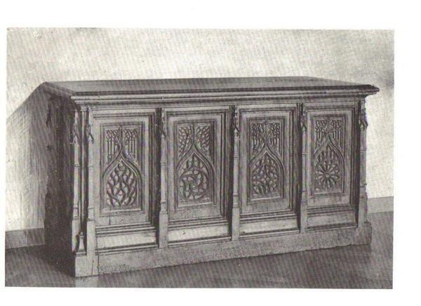 etude des styles des meubles le gothique 1