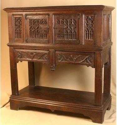 etude des styles des meubles le gothique 0