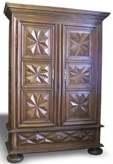etude des styles des meubles le style louis xiii. Black Bedroom Furniture Sets. Home Design Ideas