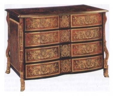 etude des styles des meubles le style louis xiv. Black Bedroom Furniture Sets. Home Design Ideas