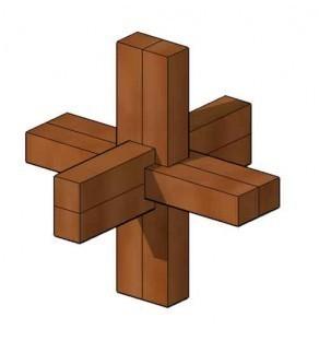 Fabriquer un noeud du diable, casse tête en bois