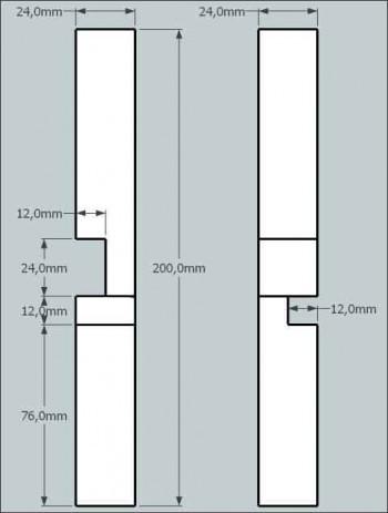 fabriquer un noeud du diable casse tete en bois 8