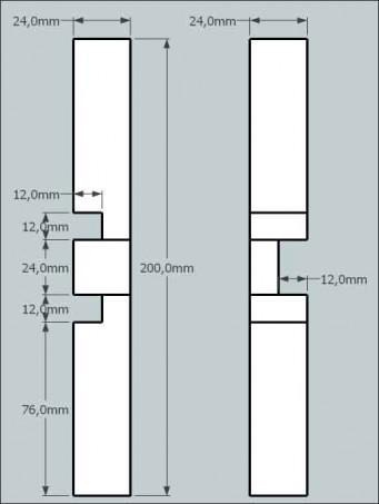 fabriquer un noeud du diable casse tete en bois 10