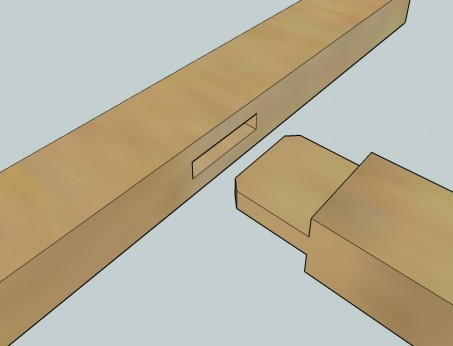 l assemblage tenon mortaise theorie 1