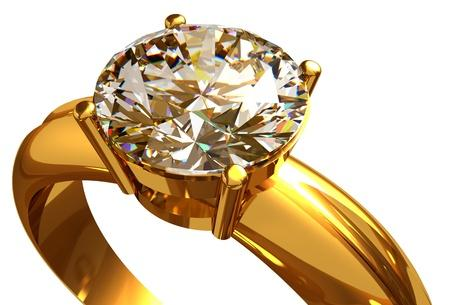 Nettoyer des bijoux en or