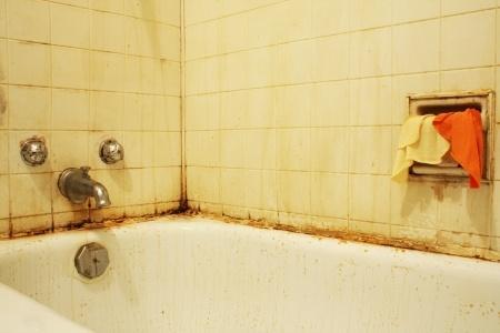 Nettoyer une baignoire