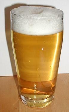 Nettoyer une tache de biere