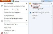 Consulter l'historique sur Firefox 5