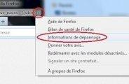 Réinitialiser Firefox