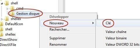 ajouter une application dans le menu clic droit du bureau sur windows 7 3