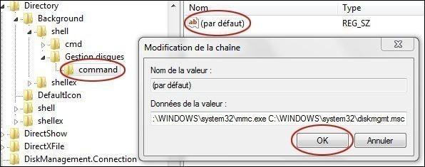 ajouter une application dans le menu clic droit du bureau sur windows 7 4