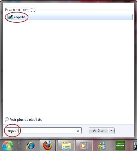 ajouter une application dans le menu clic droit du bureau sur windows 7 0