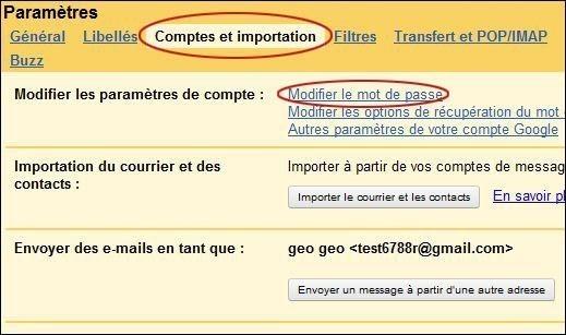 changer de mot de passe sur gmail 1