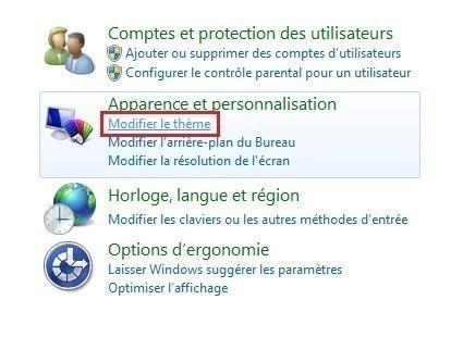 changer le curseur de la souris sur windows 7 1