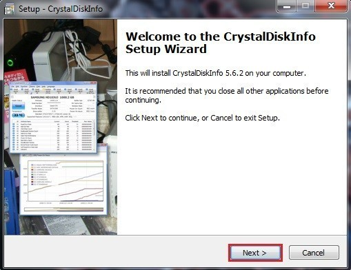 Connaitre la température d'un disque dur