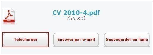 convertir un fichier en pdf 4