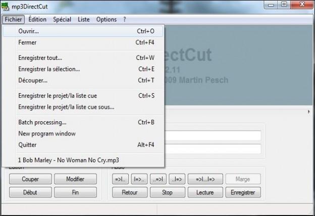 Couper un mp3 avec mp3directcut astuces pratiques - Couper un fichier audio en ligne ...