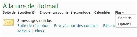 creer et gerer les contacts sur hotmail 0