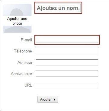 creer et gerer vos contacts sur gmail 1